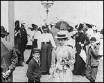 Main image of Early Fashions on Brighton Pier (1898)