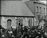 Main image of Topical Budget 310-1: Pacifists Routed in Brotherhood Church (1917)