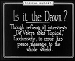 Main image of Topical Budget 515-2: Is It The Dawn? (1921)