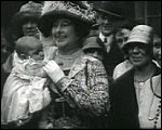 Main image of Topical Budget 726-1: Mrs. Baldwin and the Babies (1925)
