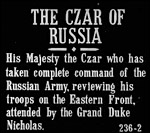 Main image of KS4 History: TB 236-2 - The Czar of Russia (1916)