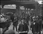 Main image of Mitchell and Kenyon: Employees Leaving Alexandra Docks (1901)