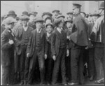 Main image of Topical Budget 150-1: 8,000 Men On Strike At Woolwich Arsenal (1914)
