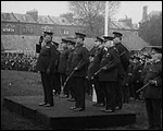 Main image of Topical Budget 267-1: Sir E. Ward Inspects 'Specials' (1916)