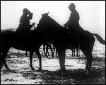 Main image of Topical Budget 243-2: Reviewing Belgian Cavalry (1916)