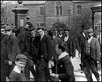 Main image of Mitchell and Kenyon: Leaving Furness Railway Works (1901)
