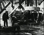 Main image of Topical Budget 140-2: Engine Falls Through A Bridge (1914)