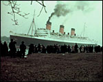 Main image of RMS Queen Mary Leaves the Clyde (1936)