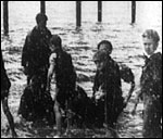 Main image of Boys Scrambling for Pennies Under the West Pier (1896)