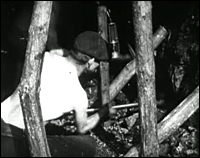 image from A Day in the Life of a Coalminer (1910)
