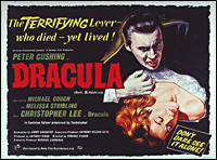 image of poster from Dracula (1958)