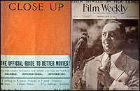 covers of Close Up and Film Weekly