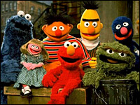 Still from Sesame Street