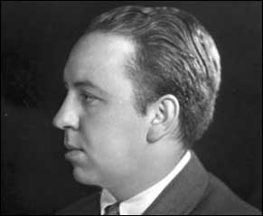 Portrait of Alfred Hitchcock (1899-1980)