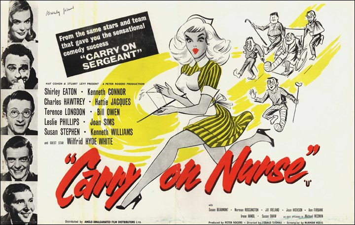 Press book image for Carry On Nurse