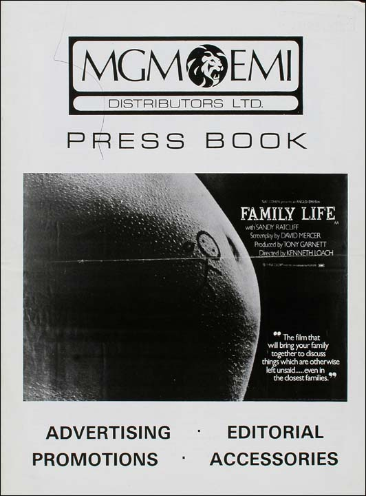 Press book image for Family Life