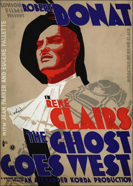 Press book image for The Ghost Goes West