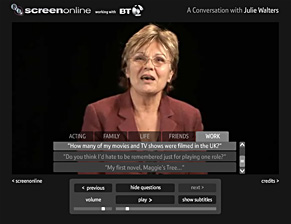 Screen grab from Archive Interactive
