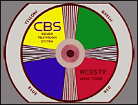 CBS color system test pattern