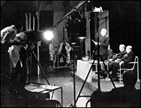 The inauguration of the BBC Television Service, broadcast using the Baird system, 2 November 1936