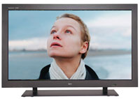 A 42-inch flat-screen plasma television